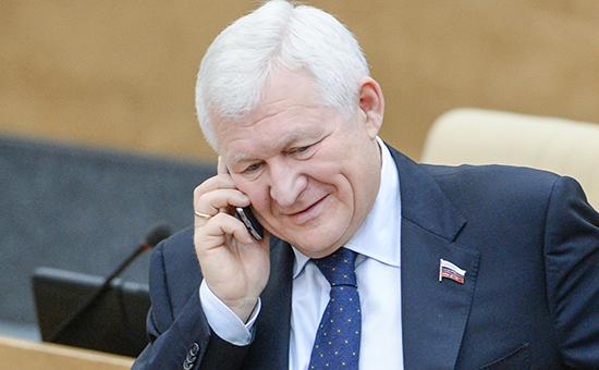 Автор законопроекта единоросс Владимир Поневежский