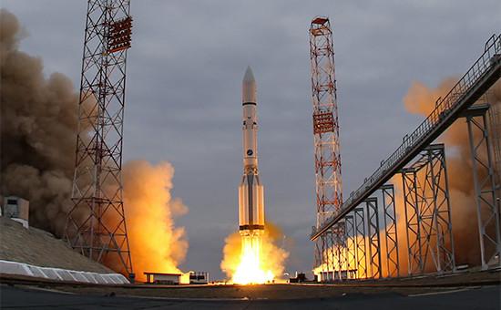 Запуск ракеты-носителя «Протон-М» саппаратами совместной российско-европейской межпланетной миссии «Экзомарс-2016»