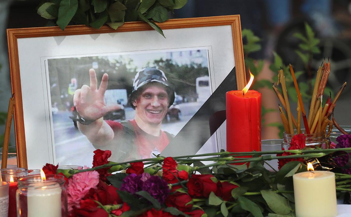 Место гибели ветерана боевых действий НикитыБелянкина,3 июня 2019г.