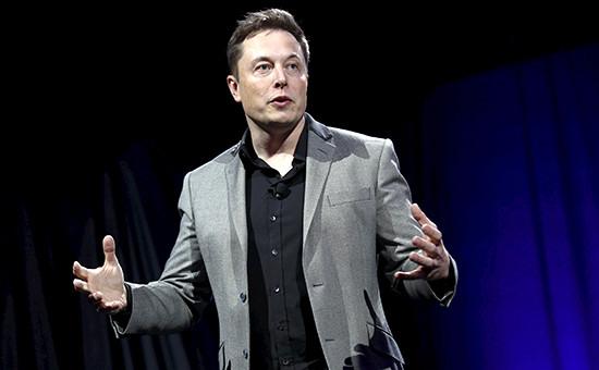 Глава Tesla иSpaceX Илон Маск
