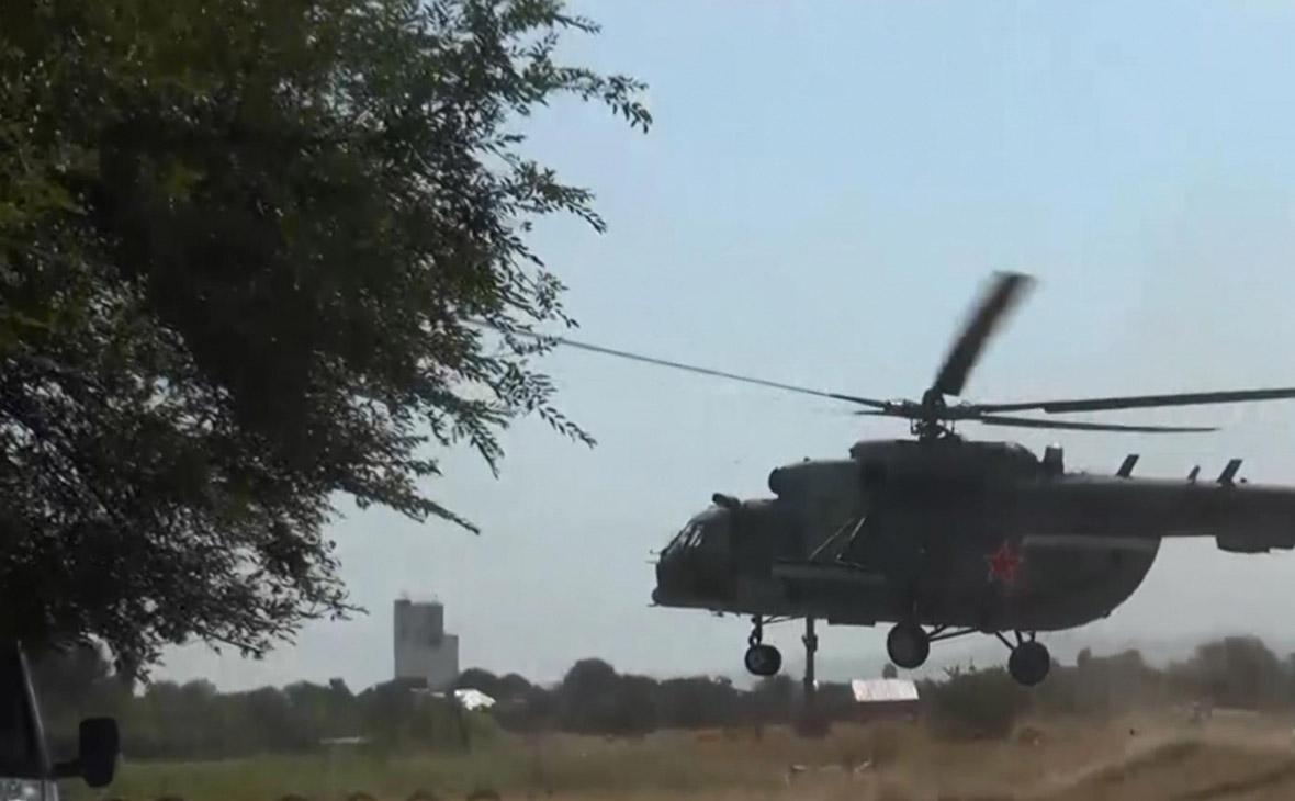 Спецоперация по нейтрализации вооруженных бандитов на окраине Хасавюрта