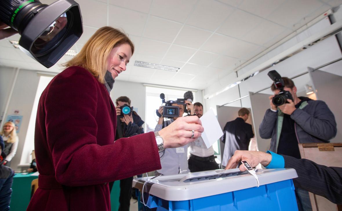 В Эстонии оппозиция выиграла парламентские выборы