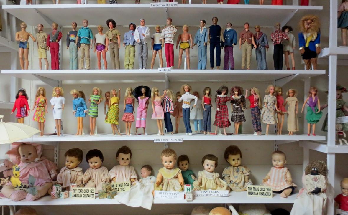 Куклы производства компании Mattel. Barbie и Betsy Wetsy