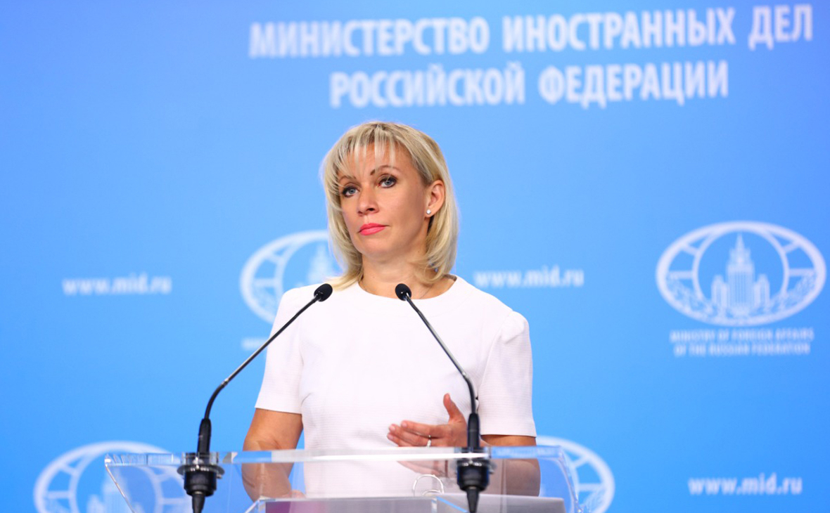 Захарова заявила о неприкрытом вмешательстве Польши в дела Белоруссии ::  Политика :: РБК