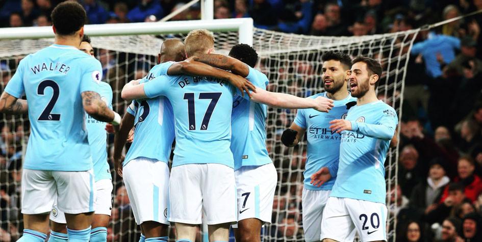 Отрыв «Манчестер Сити» от второго места в чемпионате вырос до 16 очков