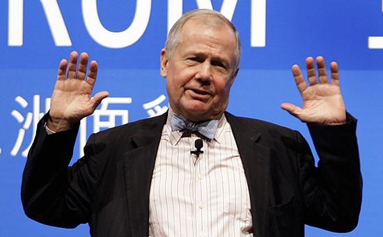 Американский миллиардер и инвестор Джим Роджерс