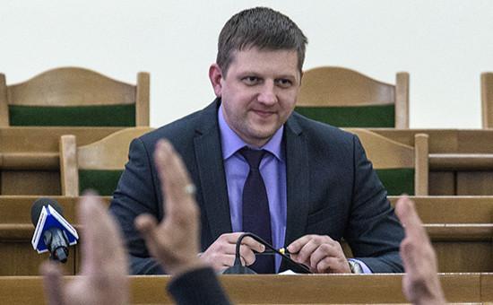 Спикер Народного совета ЛНР Алексей Карякин
