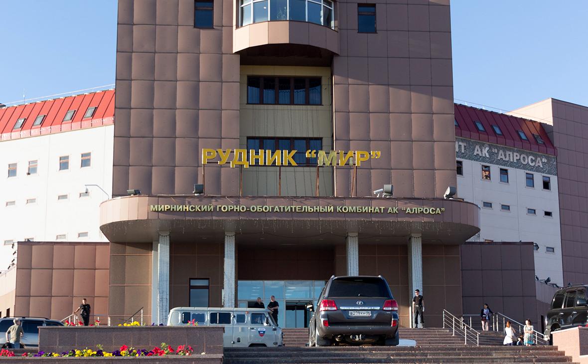 Здание рудника «Мир». 4 августа 2017 года