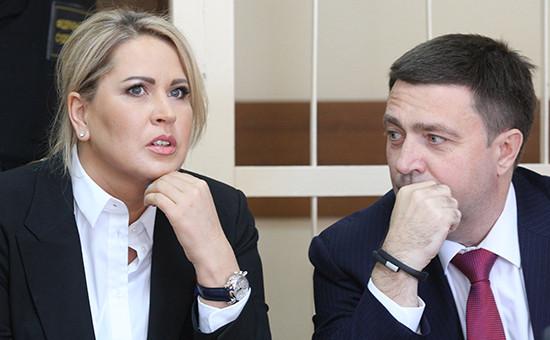 Бывший руководитель департамента имущественных отношений Минобороны Евгения Васильева и адвокат Дмитрий Харитонов