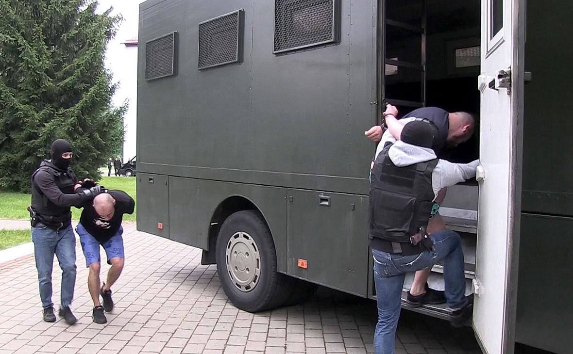 Задержание граждан России в Белоруссии