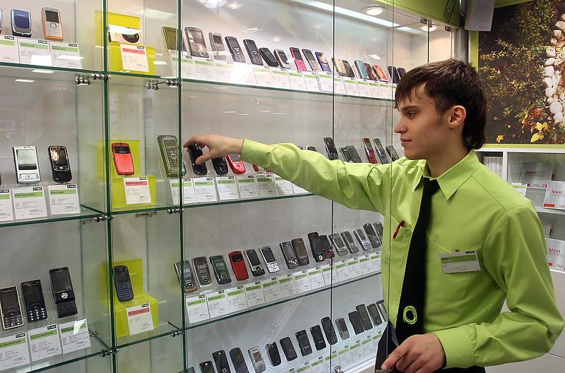 Продажа мобильных телефонов в Петербурге