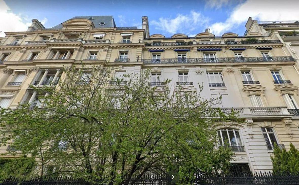 Здание в престижном парижском районе на авеню Фош