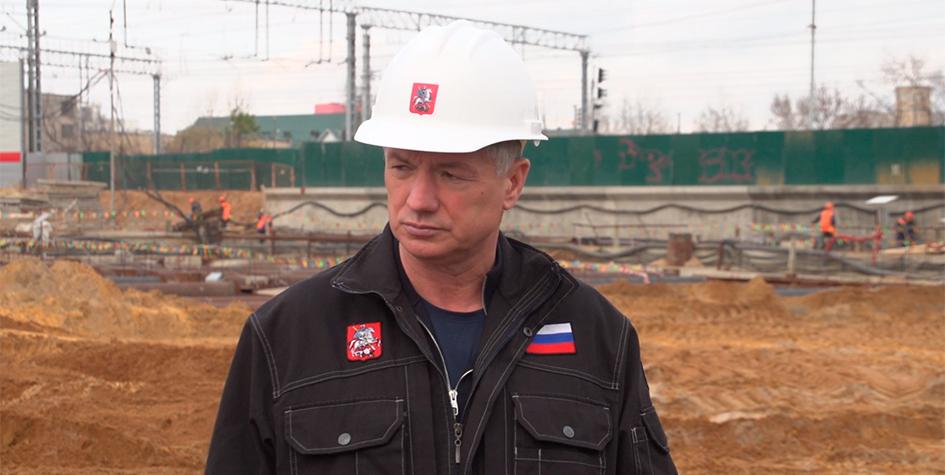 Заммэра Москвы по вопросам градостроительной политики и строительства Марат Хуснуллин