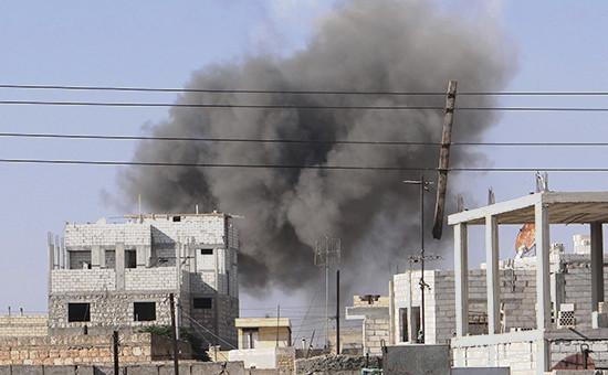 Вид нагород Серакаб вСирии. Сентябрь 2012 года