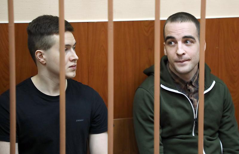 Предполагаемые участники организации «Сеть» Виктор Филинков и Юлий Бояршинов