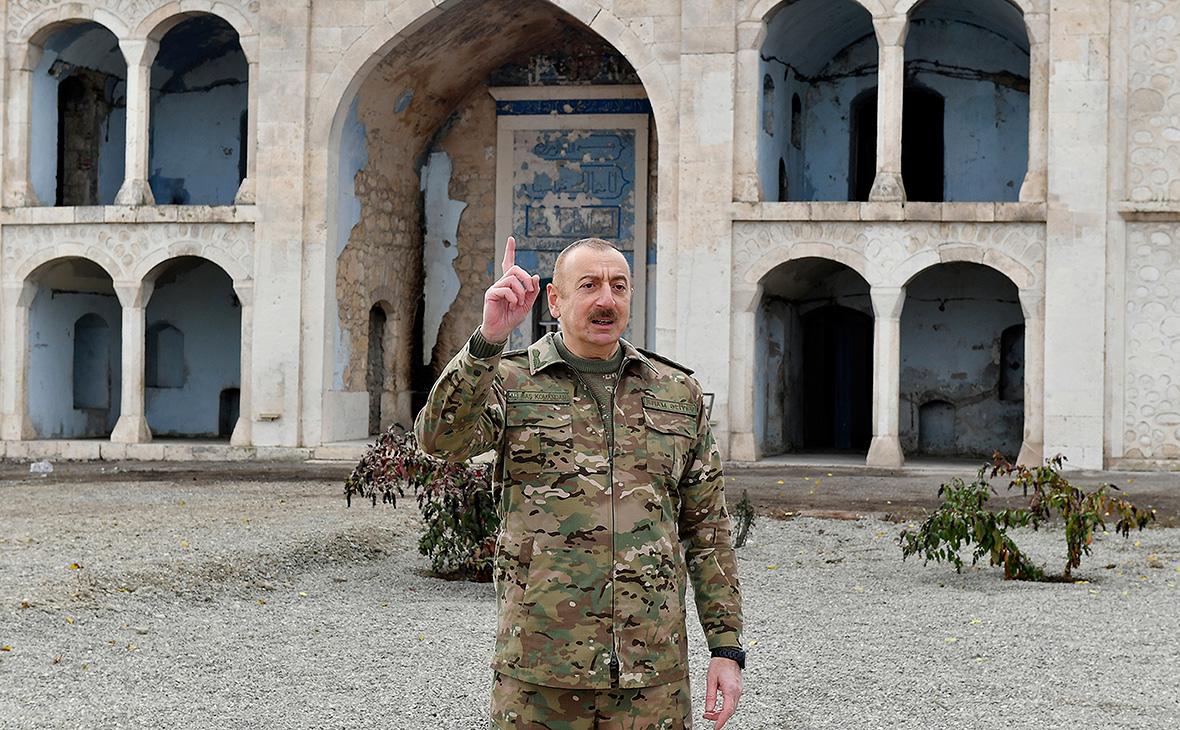 Алиев заявил о поддержке Путиным и Эрдоганом нового коридора в Карабахе