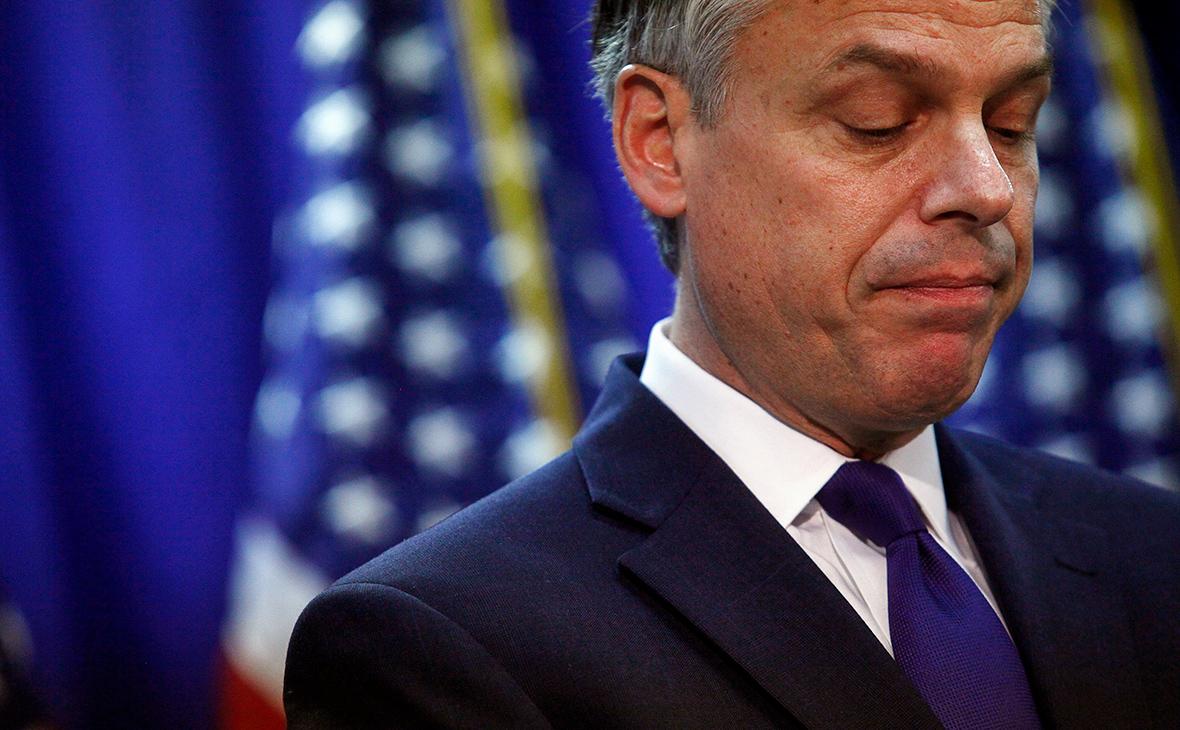 СМИ сообщили о возможной отставке посла США в России Хантсмана