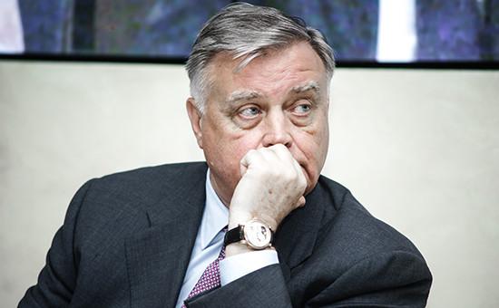 Бывший глава РЖД Владимир Якунин
