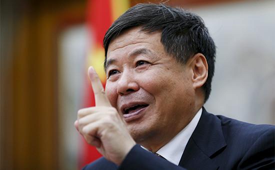 Замминистра финансов КНР Чжу Гуанъяо
