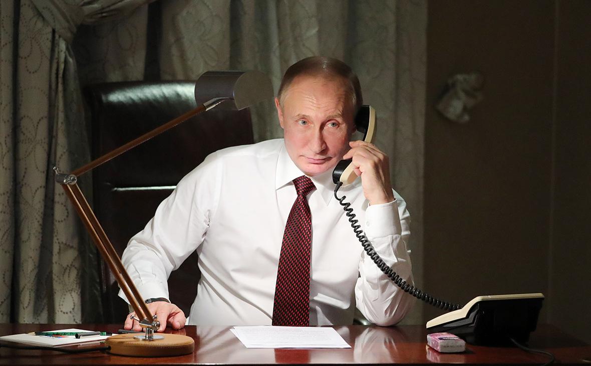 Путин во время прямой линии позвонит губернаторам