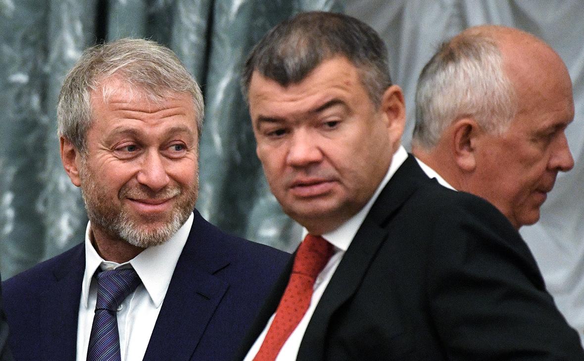 Роман Абрамович и Андрей Бокарев