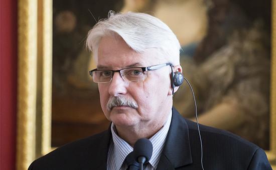 Глава внешнеполитического ведомства Польши Витольд Ващиковский