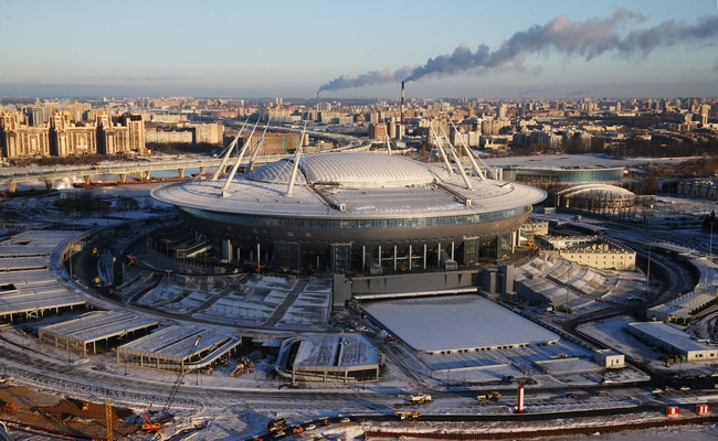 Стадион «Крестовский», ранее известный как«Зенит Арена»