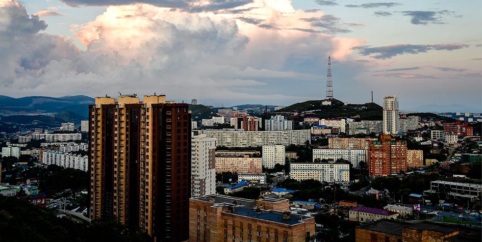 Владивосток. Вид на город