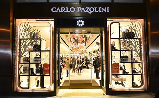 Магазин сети Carlo Pazolini, основателем которой является Илья Резник