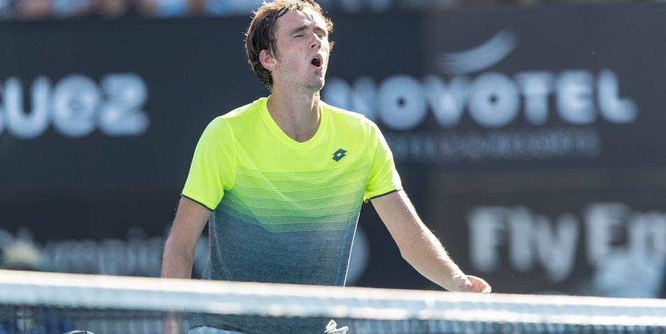 21-летний российский теннисист во второй раз вышел в финал турнира АТР