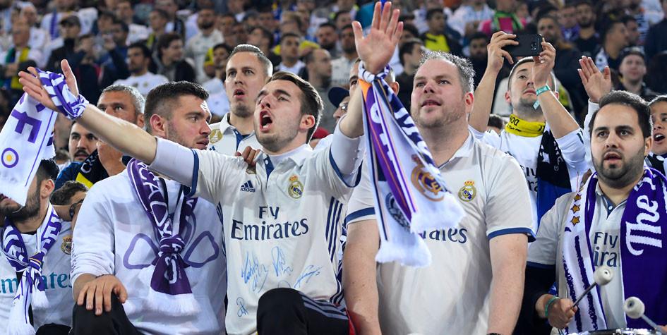 Более 2200 фанатов «Реала» вернули билеты на финал Лиги чемпионов в Киеве