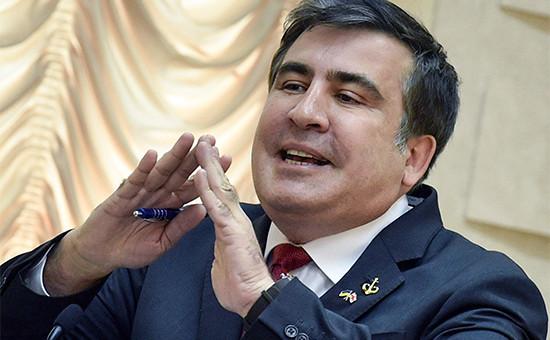 Губернатор Одессы Михаил Саакашвили