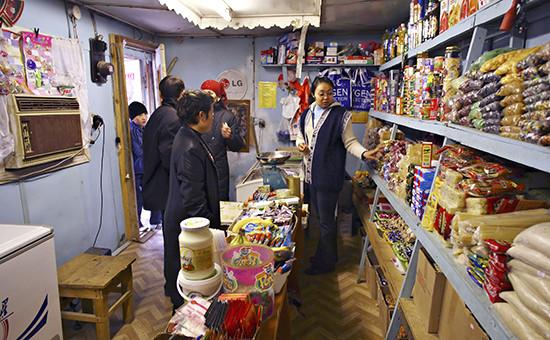 Продовольственный магазин в Казахстане