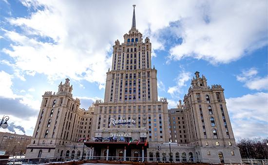 Гостиница Radisson Royal (бывшая «Украина»)