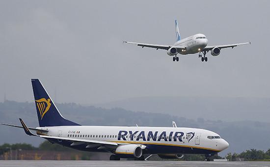 Boeing 737-800 авиакомпании Ryanair