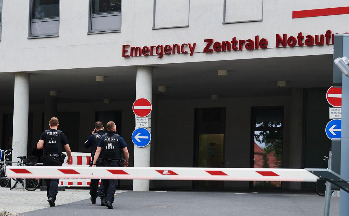 Клиника «Шарите» в Берлине, где в отделении интенсивной терапии проходит лечение Алексей Навальный