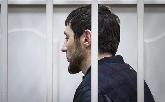 Обвиняемый в убийстве Бориса Немцова Заур Дадаев