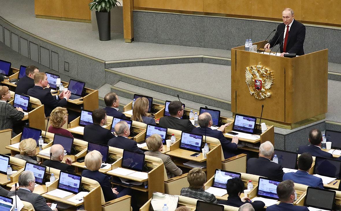 Путин не увидел необходимости в досрочных выборах в Госдуму