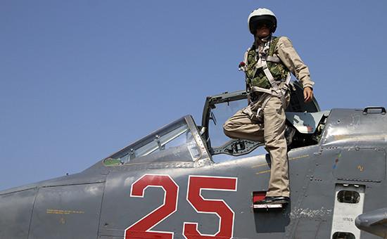 Российский штурмовик Су-25М