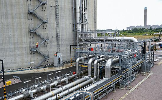 Газоперерабатывающий завод наюге Англии, 2013 год
