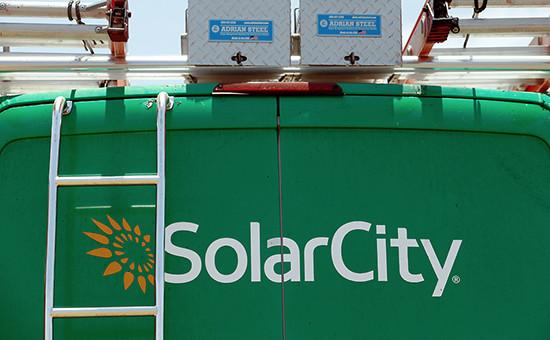 Логотип компании Илона Маска SolarCity