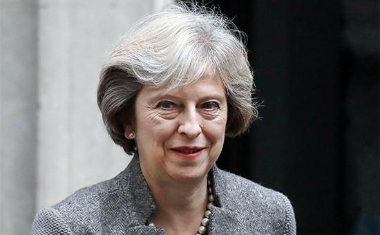 Премьер-министр ВеликобританииТереза Мэй