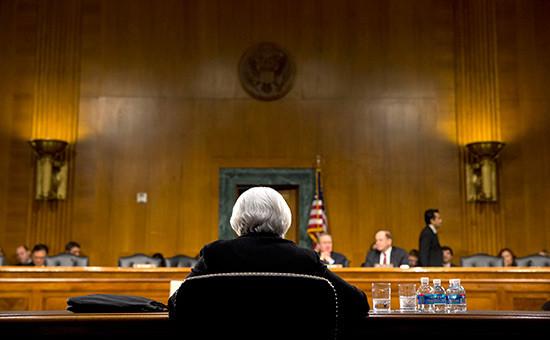 Во время заседания ФРС США