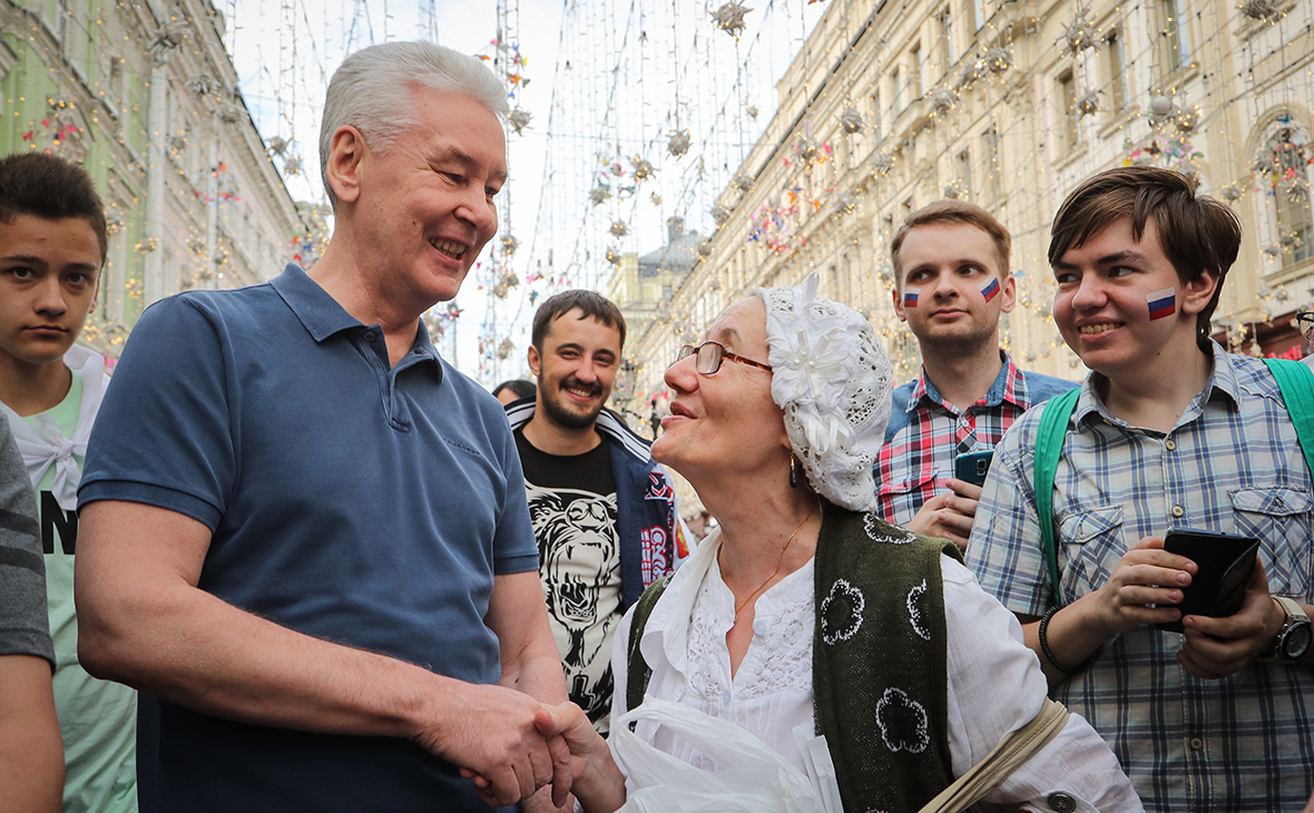 Москвичи не увидели в Сергее Собянине президента