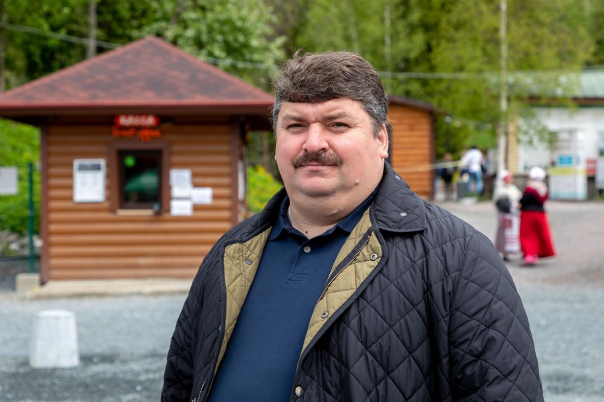 Создатель горного парка «Рускеала» Александр Артемьев