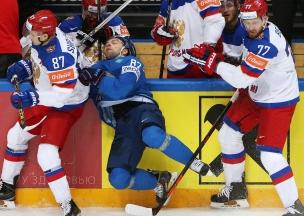 Россия Казахстан хоккей