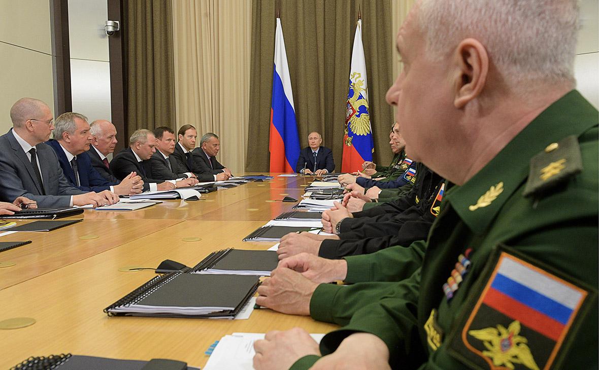 Путин раскритиковал эксплуатацию «старых заделов» в ракетной отрасли