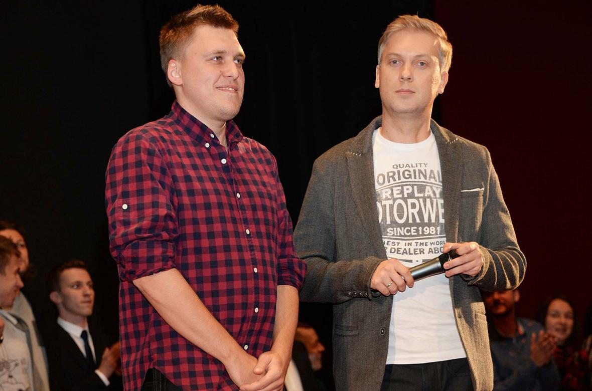 Александр Незлобин(слева) иСергей Светлаков