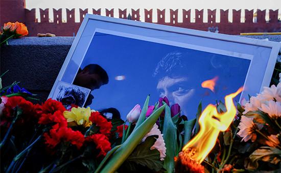 Первая годовщина содня убийства Бориса Немцова