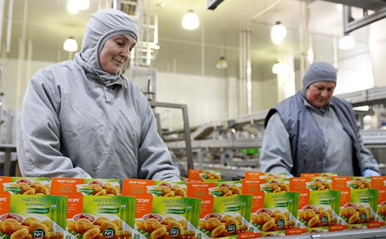 Завод агропромышленного холдинга «Мираторг» вКалининграде